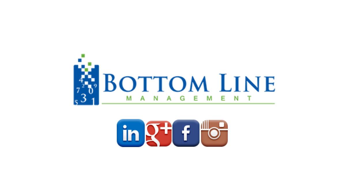 Bottom Line Management Carlsbad Bookkeeping Blog Announcement