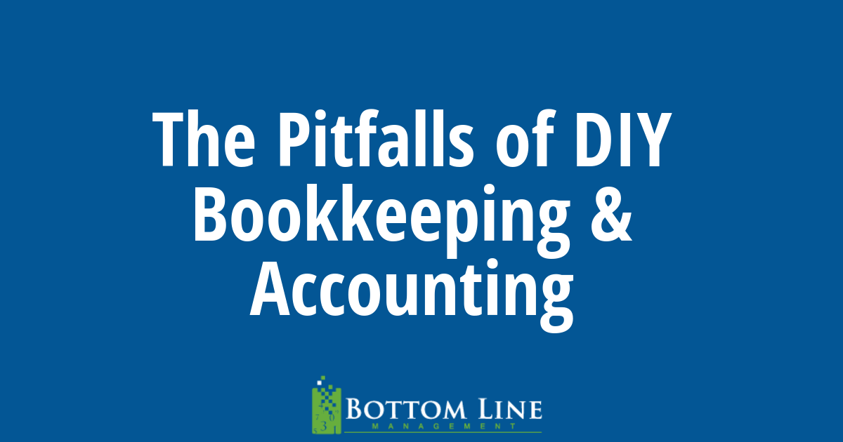 4 Pitfalls of DIY Bookkeeping and Accounting