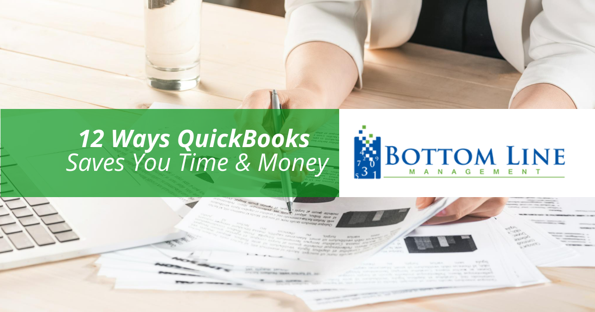 QuickBooks Saves You Time & Money