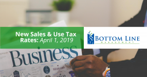 New Sales & Use Tax Rates by Bottom Line Management Carlsbad CA