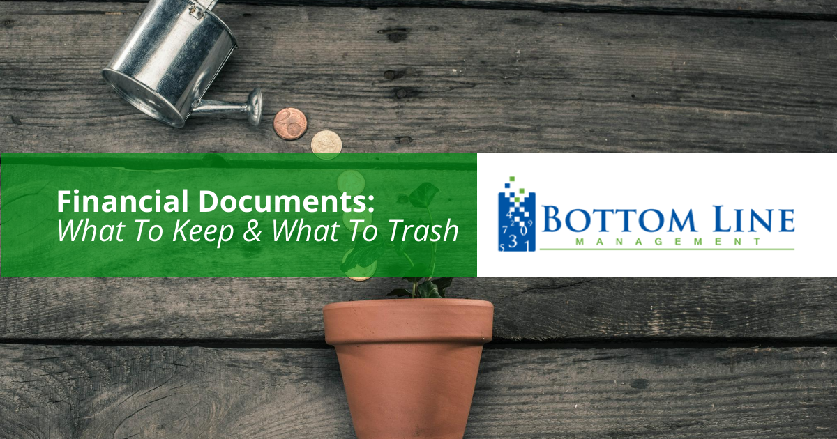 Financial Documents What To Keep What To Trash