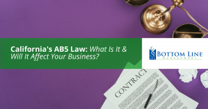 Does the New AB5 Law Affect You